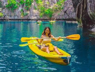 El Nido Palawan Island Hopping Tour A with Lunch  | Big Lagoon, Shimizu Island, & More width=