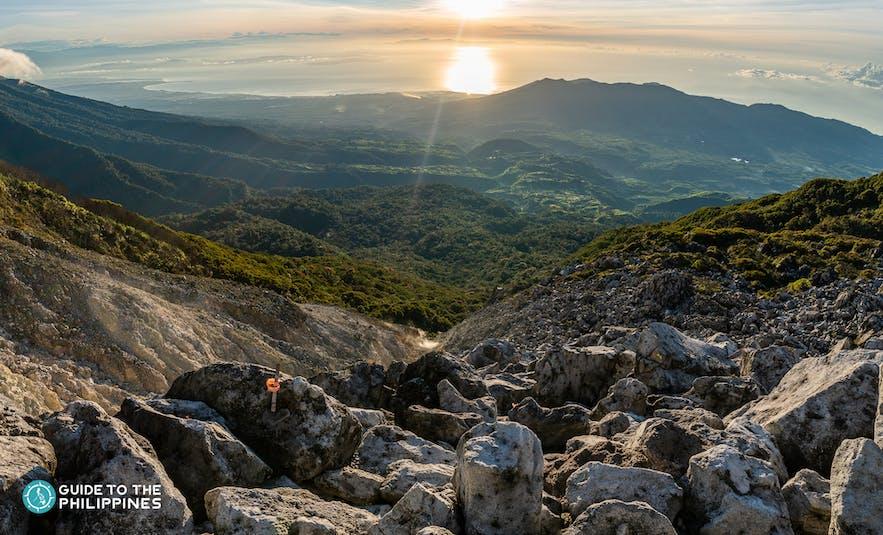 Mount Apo hiking area