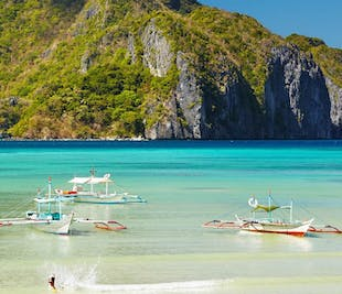 Cadlao Beaches & Coves I El Nido Island Hopping Tour D with Lunch