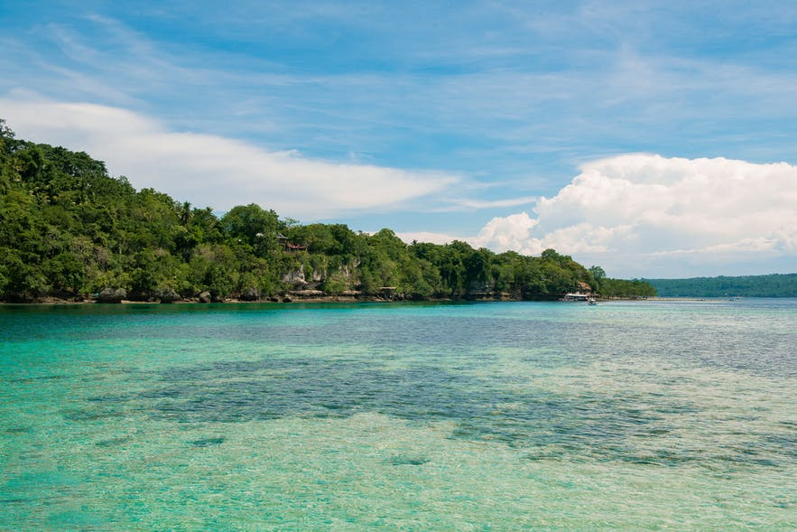 Popular Island hopping destination: Samal Island in Davao