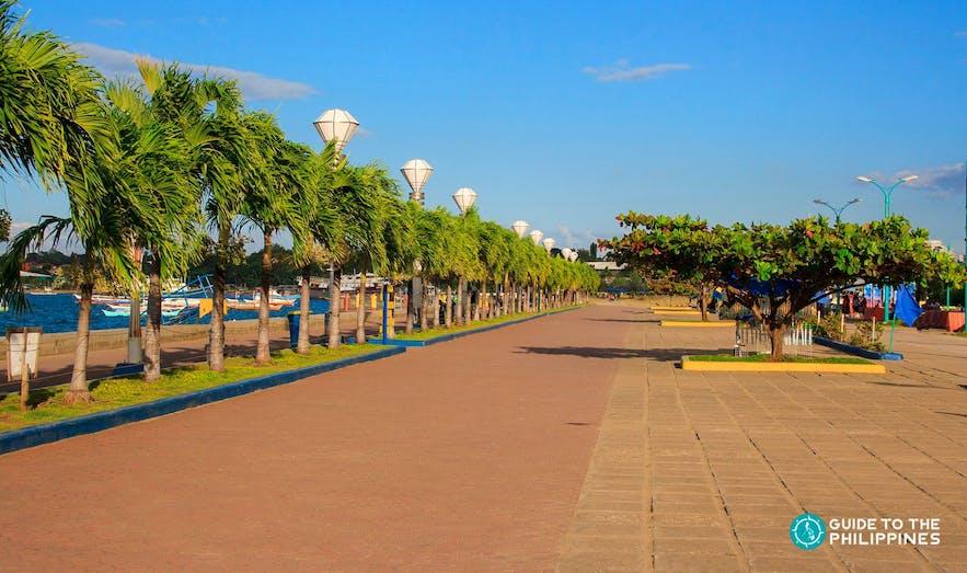 Puerto Princesa Baywalk Park in Palawan