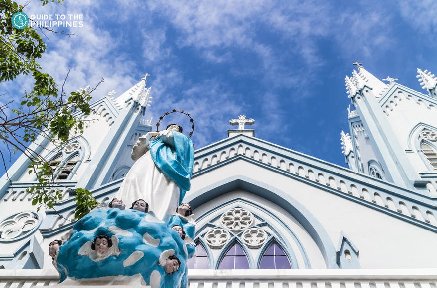 Immaculate Conception Cathedral in Puerto Princesa, Palawan