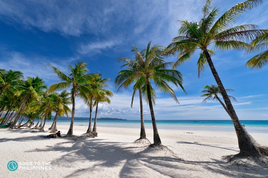White beach of Boracay