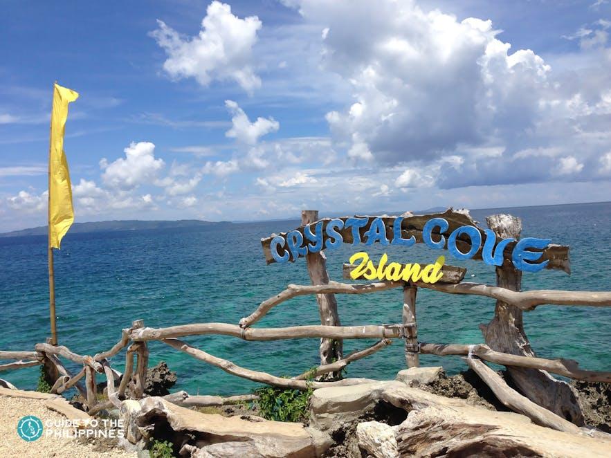 Cystal Cover beach in Boracay