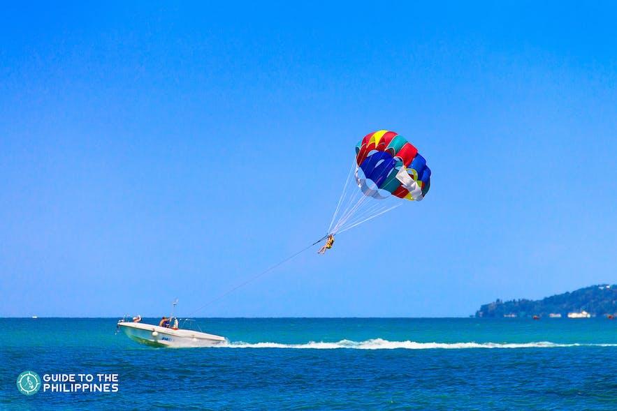 High-altitude activities in Boracay