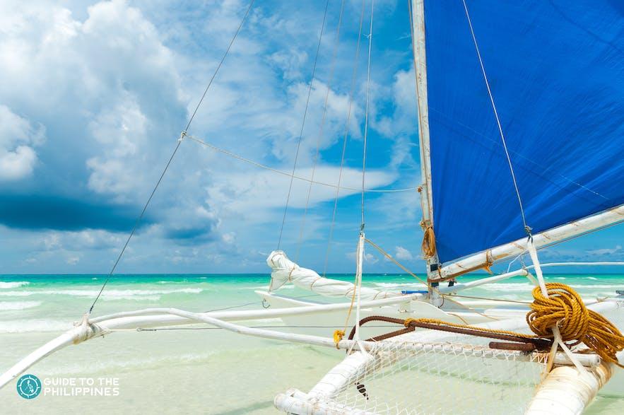 Paraw sailing adventure in Boracay