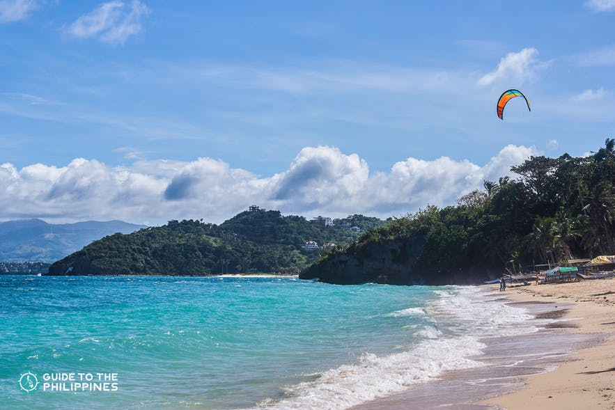 Ilig-iligan beach in Boracay