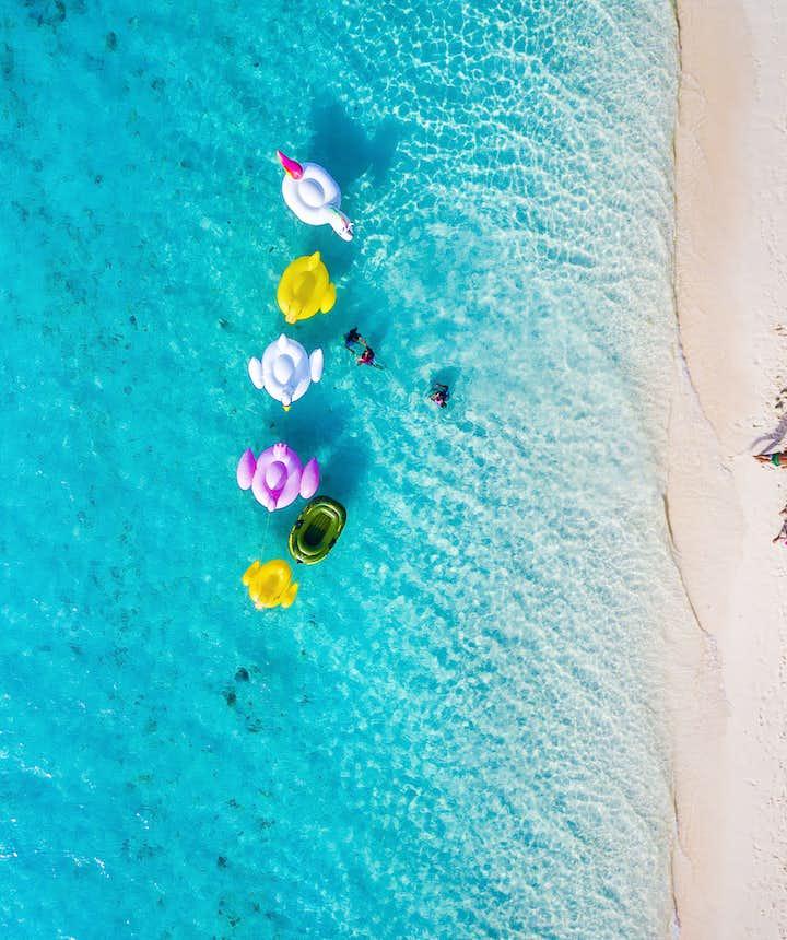White beach of Boracay Island, Philippines