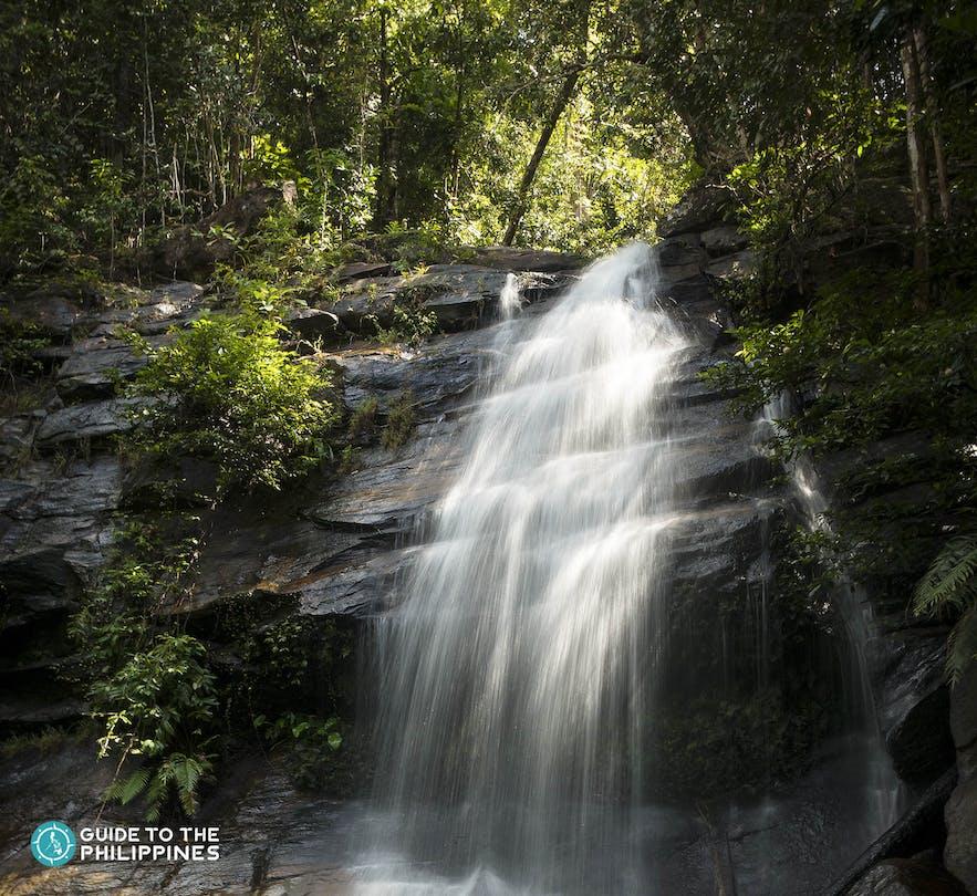 Bigaho Falls in San Vicente, Palawan