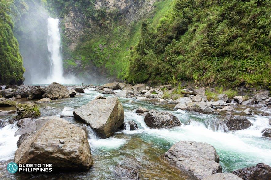 Tappiyah Falls in Batad, Banaue
