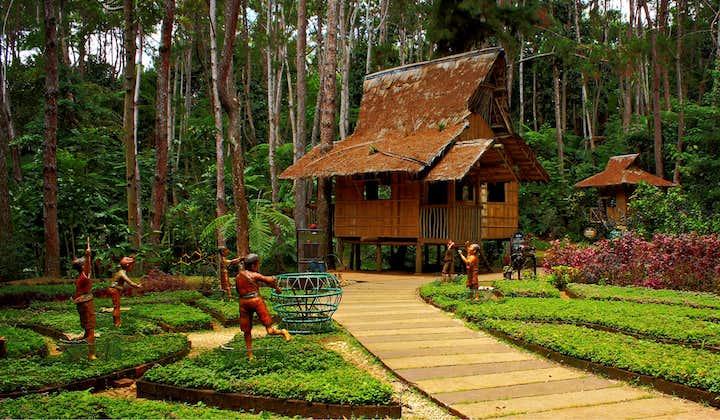 A hut in Eden Nature Park