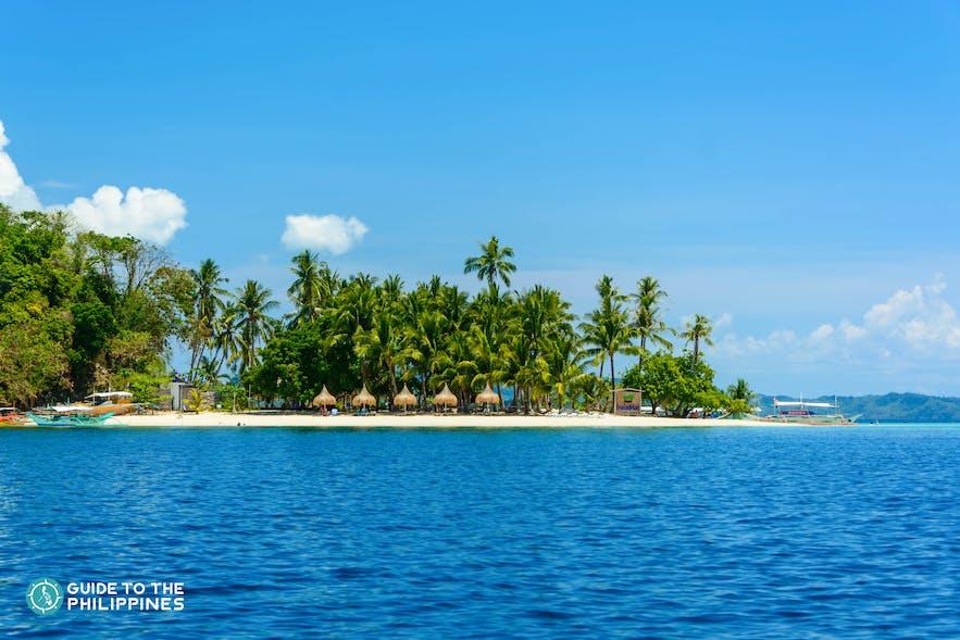 Inaladelan Island Resort in Port Barton, Palawan