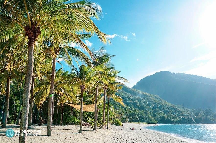 White sand beaches of Puerto Galera