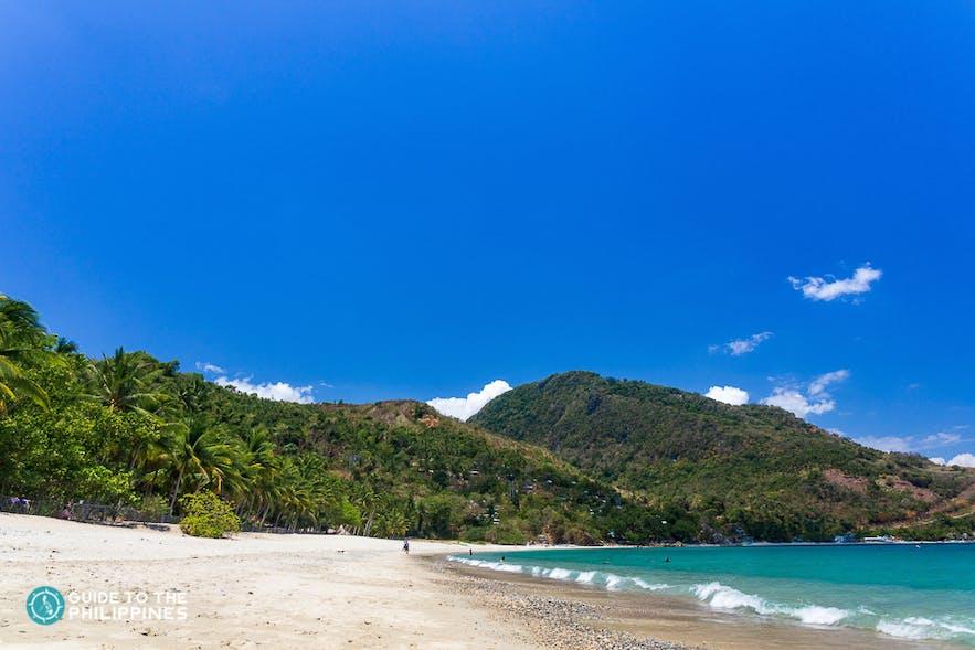 Aninuan beach of Puerto Galera, Philippines