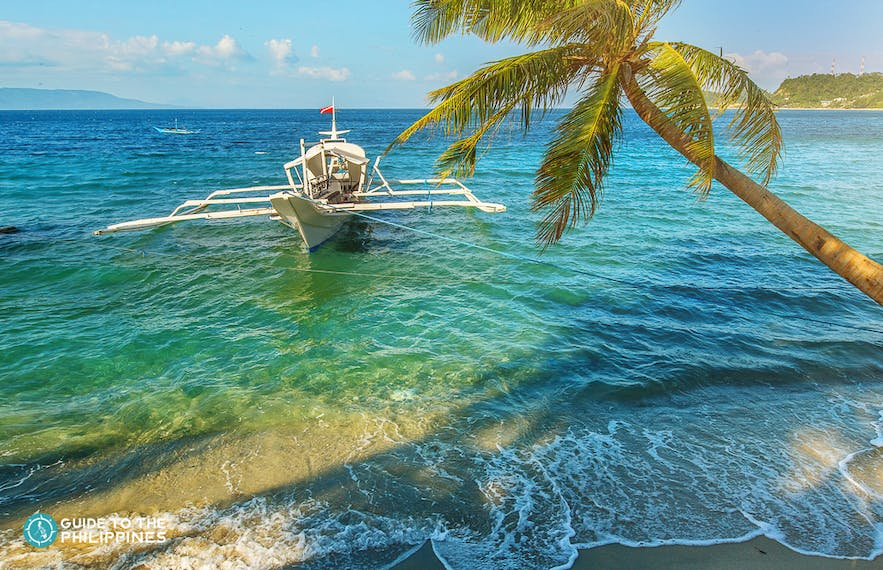 Clear waters of Puerto Galera