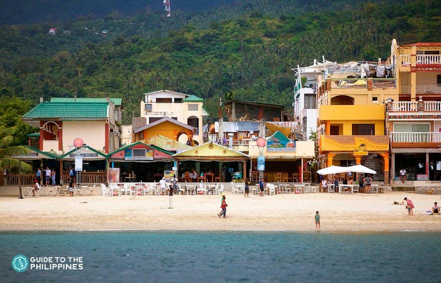 Resorts & Hotels at White Beach, Puerto Galera
