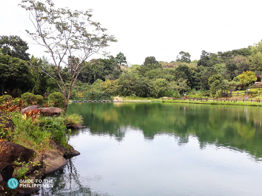 Boating lagoon in Mambukal resort