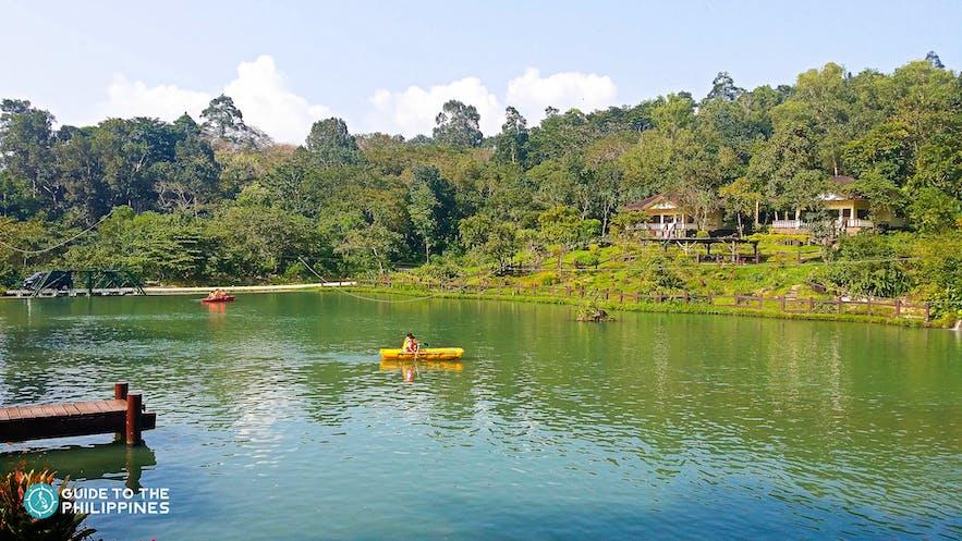 Boating area at Bacolod's Mambukal Resort
