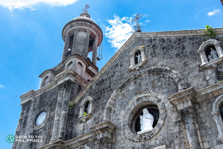 san sebastian cathedral in bacolod