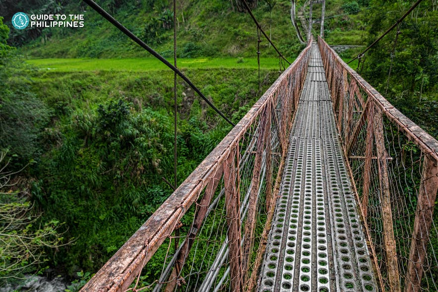 Hanging Bridge in Banaue