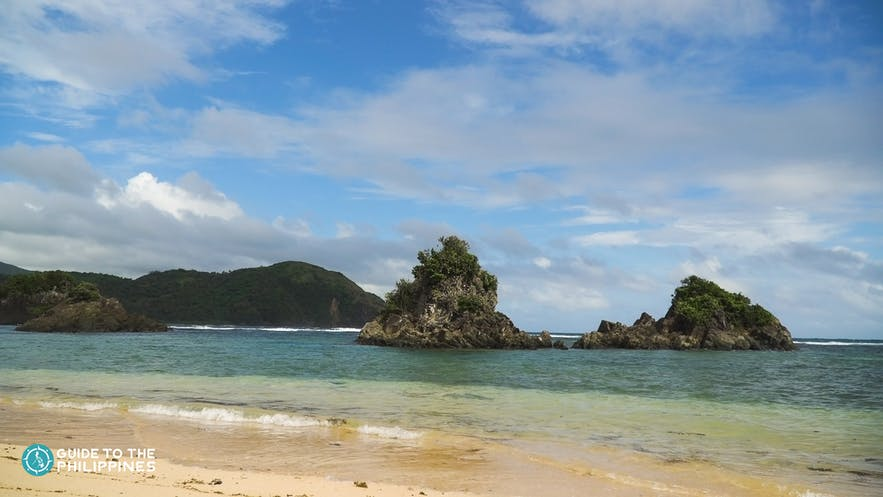 White sand beaches of Catanduanes