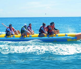 Boracay Banana Boat Private Tour | Free Land and Boat Transfers