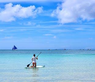 Paddle Boarding in Boracay
