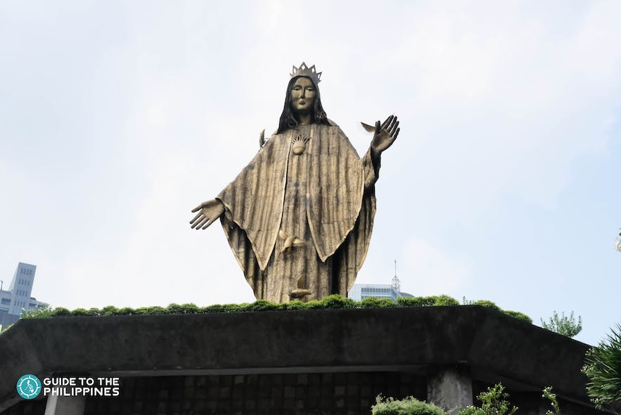 The Shrine of Mary, Queen of Peace or the EDSA Shrine