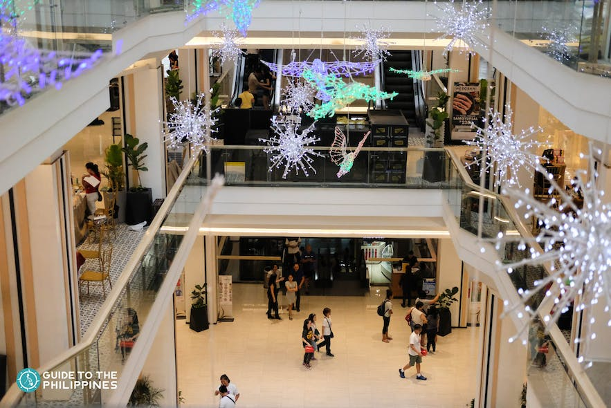 Eastwood Mall in Quezon City