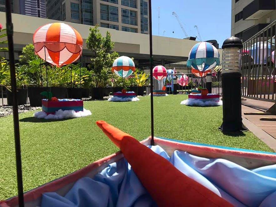 Themed Glorietta Park in Makati