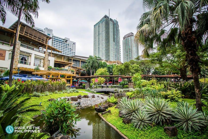 Greenbelt Mall Complex in Makati, Philippines