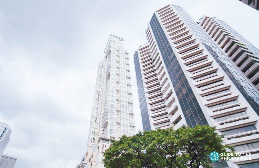 Condominium buildings in Makati, Philippines
