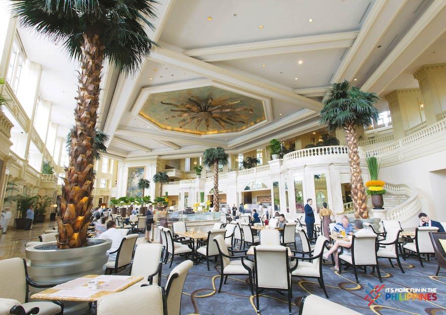 Main lobby of The Peninsula Manila in Makati