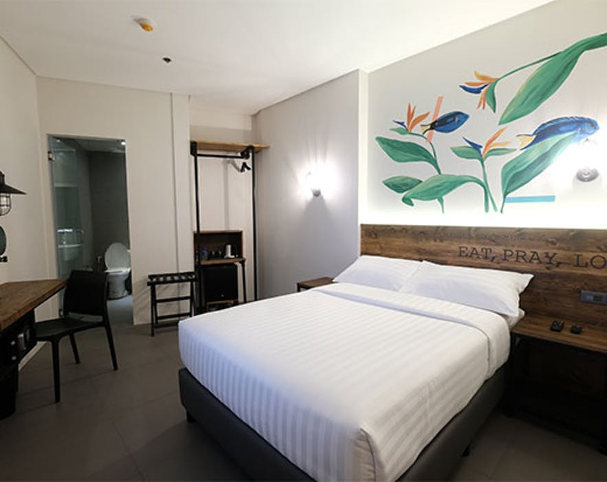 Guest room at U Hotels in Makati