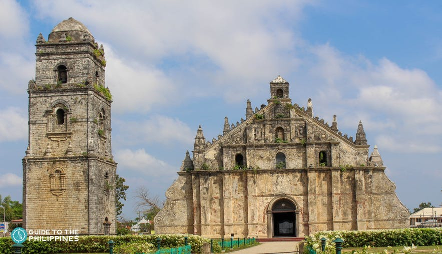 Paoay Church also known as San Agustin Church in Ilocos Norte