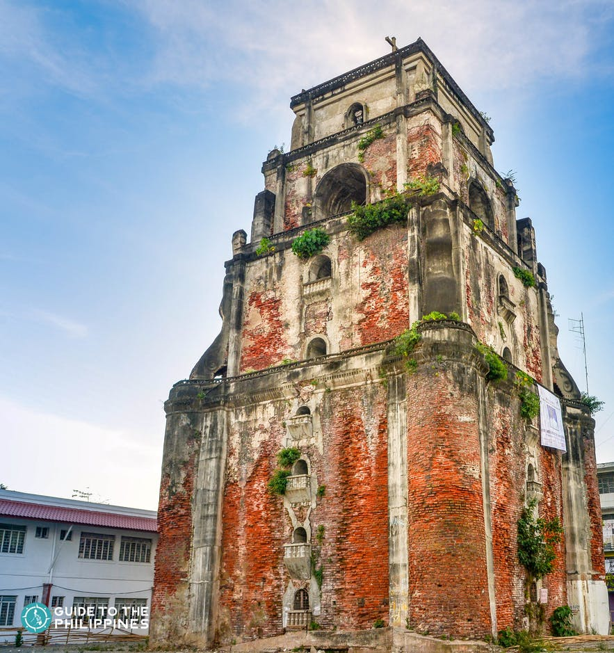 Sinking Bell Tower in Laoag, Ilocos Norte