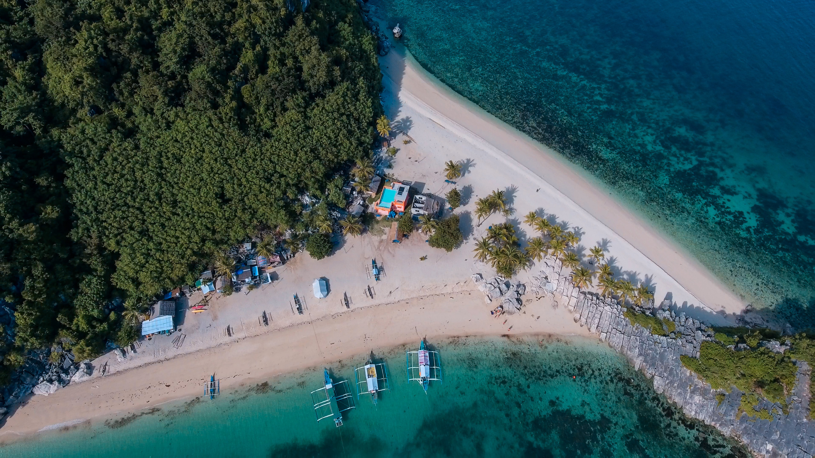 Iloilo Islas de Gigantes Island Hopping Tour with Seafood Lunch & Transfers from Roxas