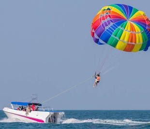 Boracay Parasailing Solo Flyer | Private Day Activity