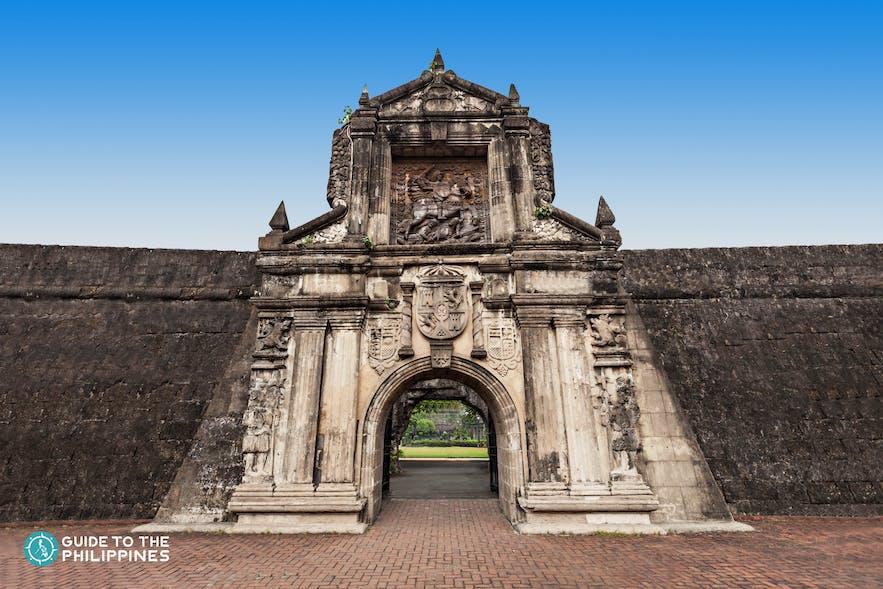 Fort Santiago in Intramuros, Manila, Philippines