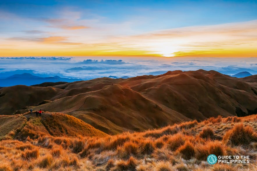 A cloud inversion on top of Mt. Pulag, the second highest peak in the Philippines