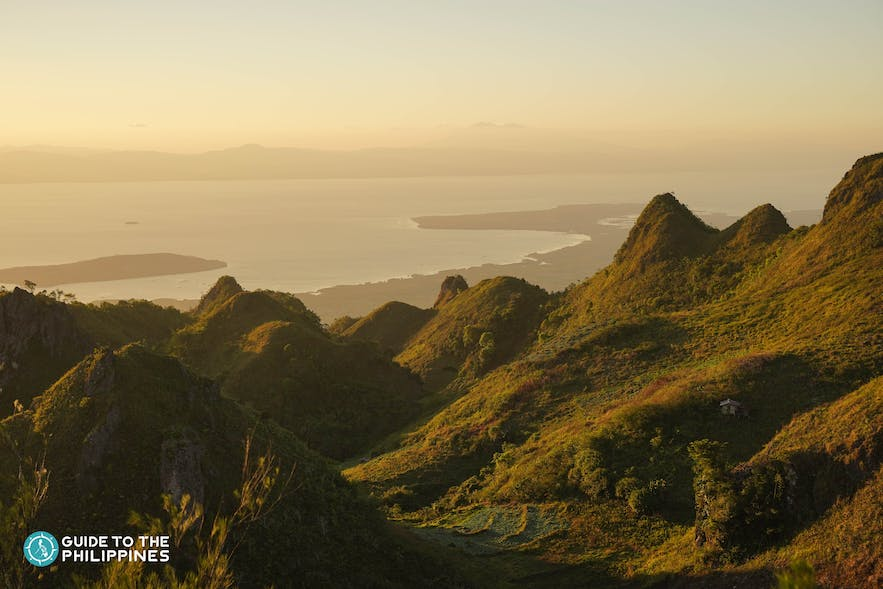 Sunset at Osmeña Peak in Dalaguete, Cebu