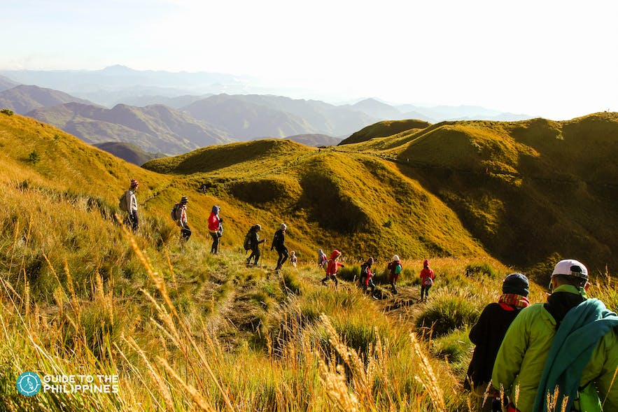 Sunrise at Mt. Pulag in Benguet, Philippines