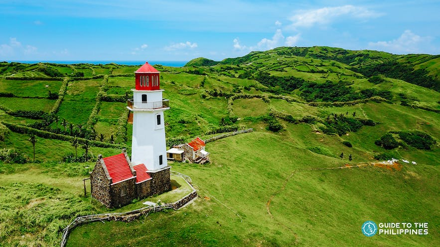 Tayid lighthouse in Batanes, Philippines