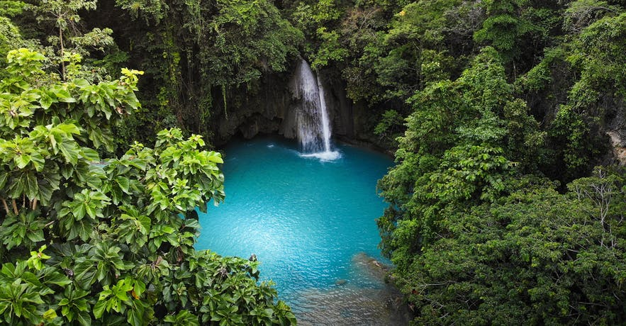 Kawasan Falls in Badian, Cebu City