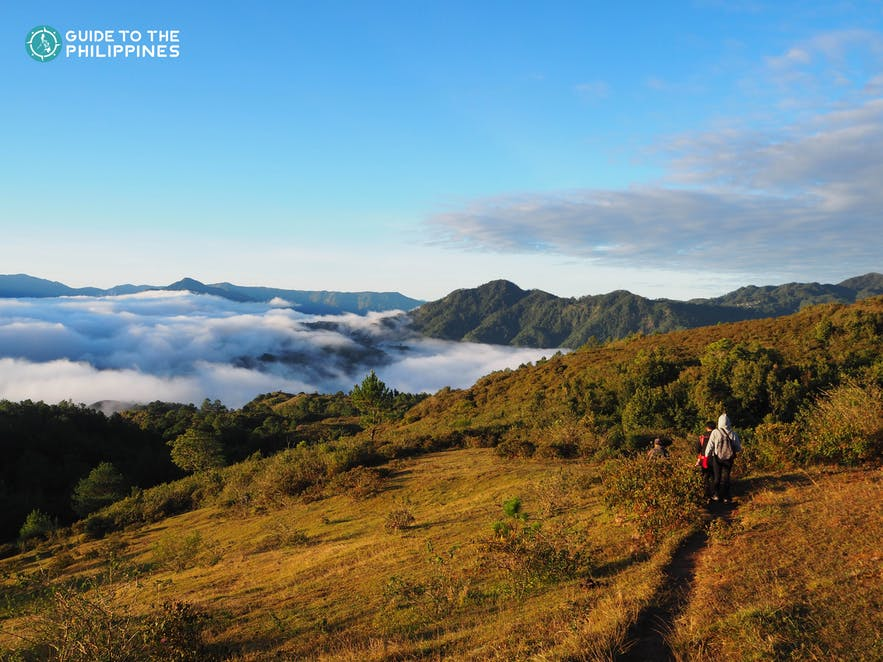 Mt. Kiltepan in Sagada, Mountain Province