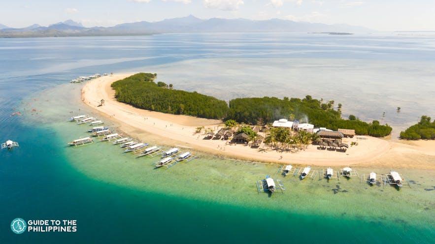 Starfish Island in Honda Bay, Palawan