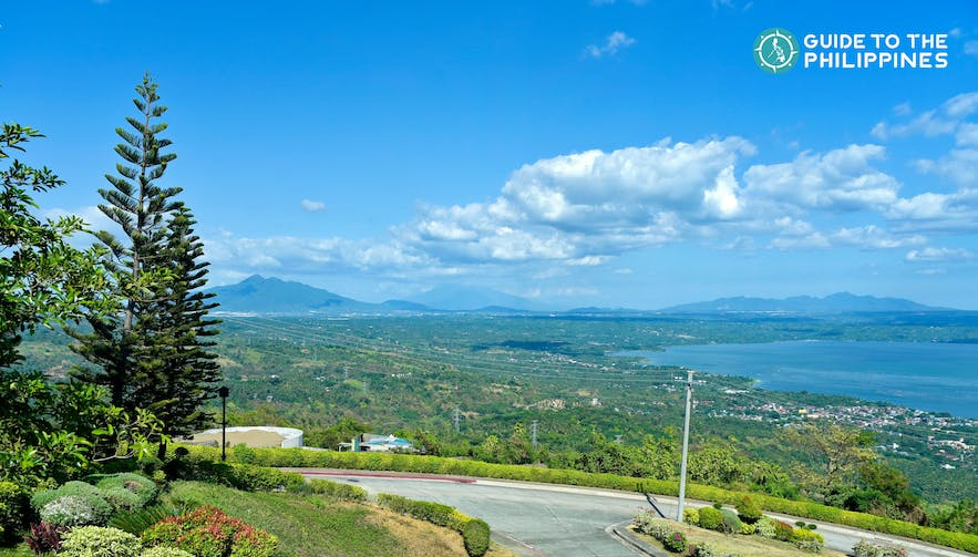 Skyline view of the city at Tagaytay Highlands