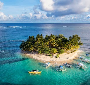 Siargao Island Hopping with Land Attractions Day Tour | With Transfers