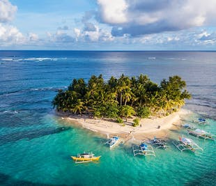Siargao Island Hopping with Land Attractions Day Tour   With Transfers
