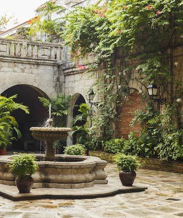 Fountain at Casa Manila in Intramuros